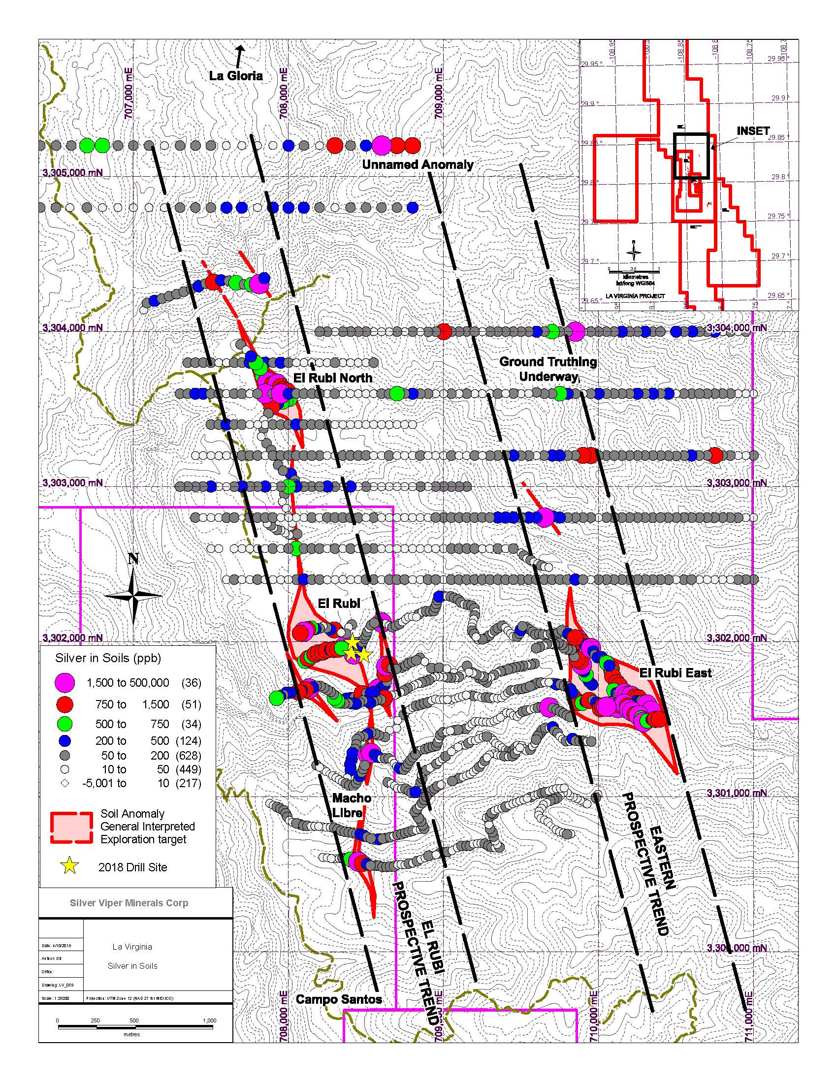 Silver Viper Identifies New Targets for Drilling at La Virginia Gold ...